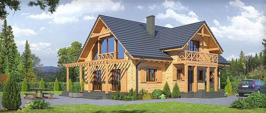 Интересные проекты дачных домов от компании usadba.in.ua