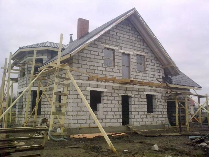 Дом из сибита