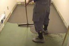 Как сделать стяжку под ламинат