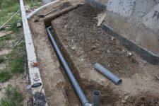 Глубина заложения трубопровода канализации