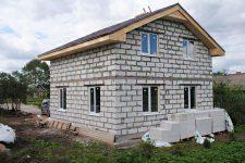 Строительство дома из газобетона: преимущества и недостатки