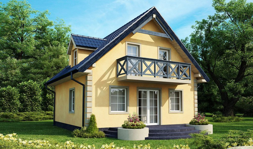 Мансардное окно для коттеджа или дачного дома
