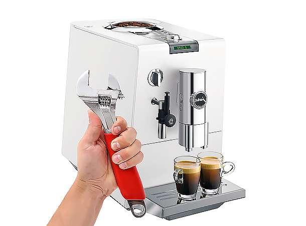 Кофемашины: неисправности и способы ремонта