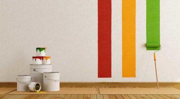 Особенности окраски стен разными технологиями