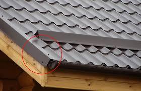 Ветровая планка для металлочерепицы