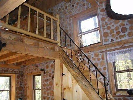 Эко строительство: дом из дров