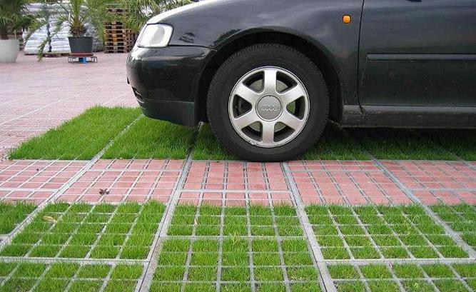 Экологическая парковка своими руками