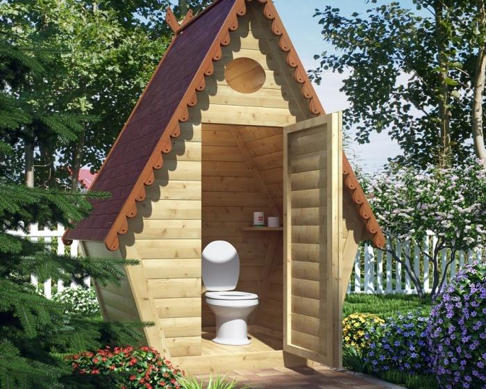 Постройка дачного туалета своими руками