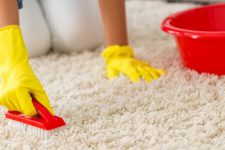 Чем почистить ковролин в домашних условиях от грязи