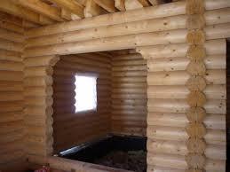 Рубленые стены дома из бревен своими руками