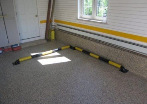 Пол в гараже
