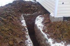 Оценка грунтов, глубины промерзания и наличия грунтовых вод