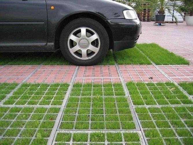 Парковка на даче