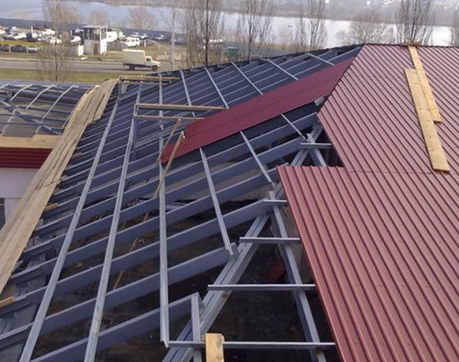 Расчет профнастил на крышу