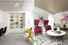 Необычный дизайн потолков в квартире