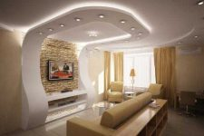 Конструкции из гипсокартона-современные решения для интерьера