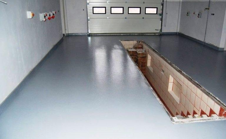 Преимущества и недостатки бетонного пола для гаража