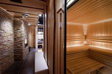 Внутренний интерьер бани – обители чистоты и здоровья