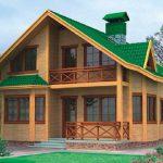 Как строят брусовые дома?