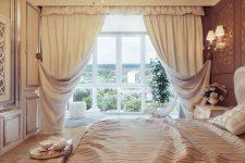 Интерьерный дизайн штор для комнат