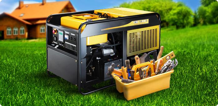 Какой электрический генератор тока лучше: бензиновый или дизельный?