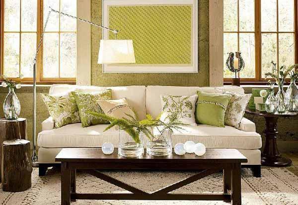 Текстиль и вазы в дизайне интерьера