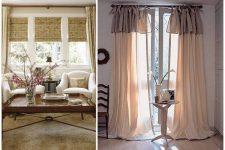 Три варианта оформления окна