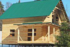 Строим дачный дом зимой: какие работы можно выполнять и как делать это правильно