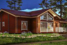 Строительство домов из бруса: преимущества, недостатки, этапы, разновидности