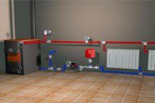 Самая простая система отопления для одноэтажных домов