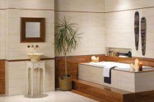 Как украсить ванную комнату без окна?