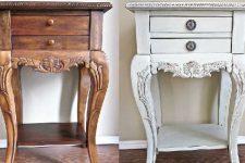 Почему блестит мебель