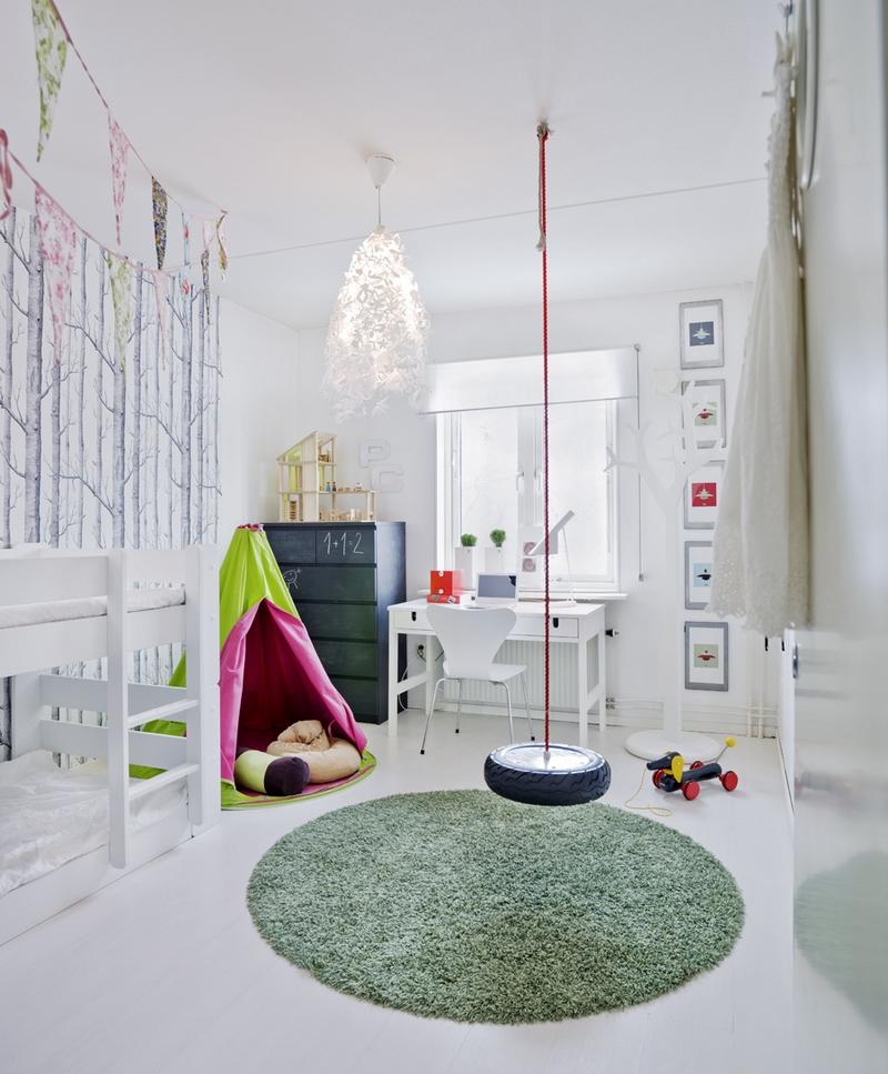 Летнее настроение в детской комнате: как обновить дизайн интерьера к лету