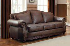 Кожаный диван: особенности и преимущества