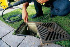 Услуга — чистка канализации