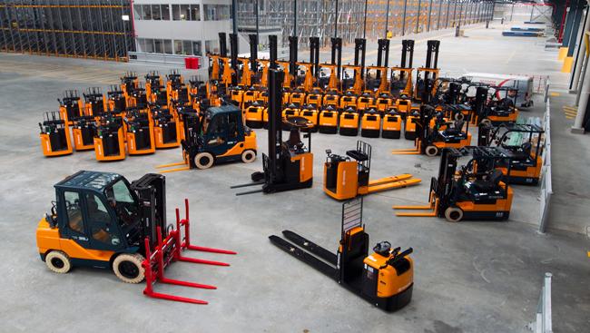 Продажа, ремонт и обслуживание складской техники
