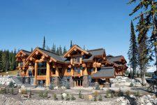 Преимущества и особенности домов из натурального бревна