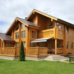 Типы строительства домов из дерева