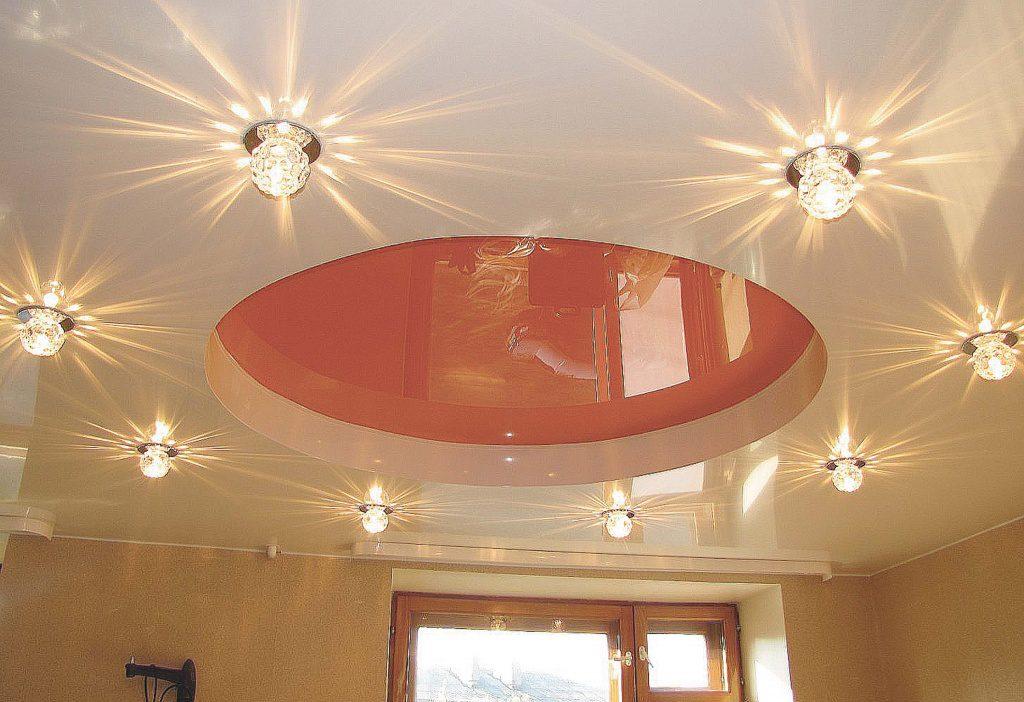 Расчет количества точечных светильников на площадь помещения