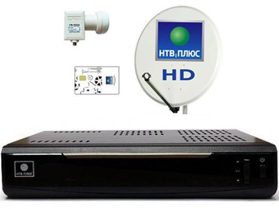 Комплект для спутникового вещания от НТВ плюс