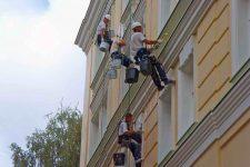 Профессиональный ремонт фасадов, основные этапы