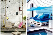 Вторая жизнь ненужных вещей: мебель из палет