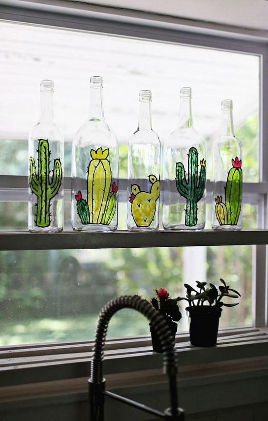 Остатки роскоши, или что можно сделать из стеклянных бутылок