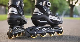Что полезного в катании на роликовых коньках