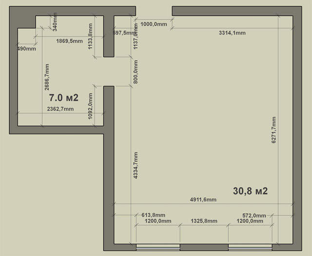 Как квартиру-студию превратить в двушку?