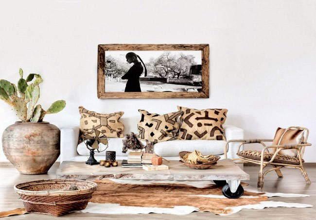 Эко-аксессуары в интерьере: главные правила декорирования