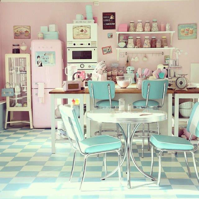 Кухоньки-конфетки — новая мода в интерьерном дизайне