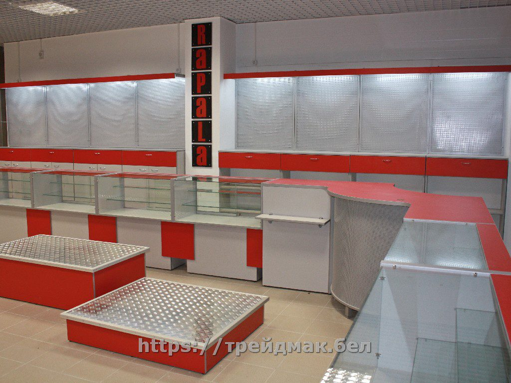Торговая мебель для магазинов и торговых центров