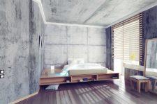 Как можно круто использовать бетон в интерьере?