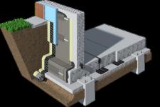 Гидроизоляция фундаментов жилых зданий